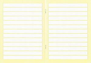4-Schulhefte-mit-Umschlag-Lineatur-2-farb-Hintergrund-A5-liniert-2-Klasse