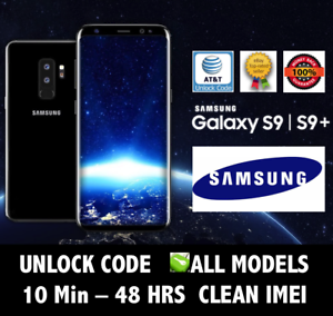 Details about Unlock Code AT&T SAMSUNG NOTE 9 8 GALAXY S9 S9+ S8 J3 J6 A6  A8 FAST Service