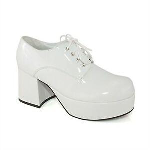 5655ff8be35 Groovy Disco Saturday Night Platform Pimp BOOTS Mid HEELS Shoes ...