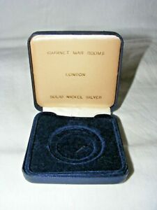 VINTAGE-CABINET-WAR-ROOMS-MEDAL-COIN-CASE-CASE-ONLY