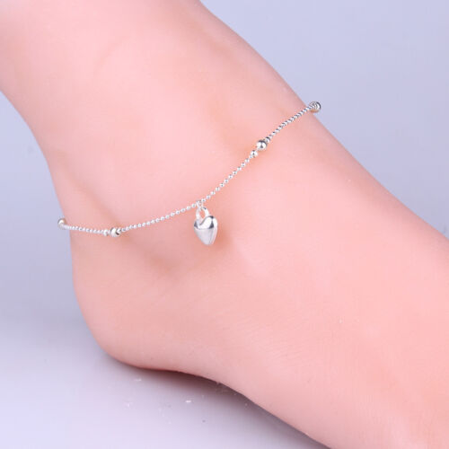The Most Exquisite Girls Love Beautiful Silver Chain Silver Anklet