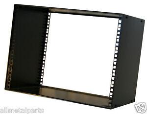 8u Rack Cabinet 19 Inch 300mm Deep Stackable Ebay