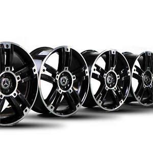 4x-Mercedes-20-Zoll-Felgen-GLK-Klasse-X204-Alufelgen-A2044016202-A2044016302-NEU