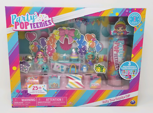 Party Time Surprise Set 3 Exclusive Dolls 25 Pieces NEW Party POPTeenies