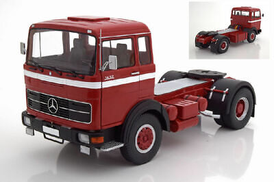 Onesto Mercedes Lps 1632 1969 Red / Black / White Camion Truck 1:18 Model Kk Scale