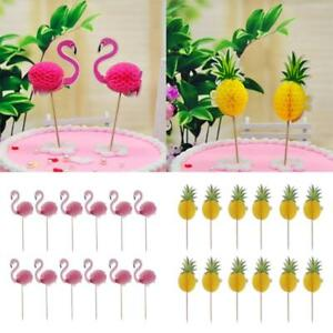24pcs-Flamingo-Pineapple-Cupcake-Picks-Cake-Toppers-Wedding-Birthday-Party-Decor