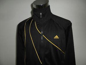 vintage 2000er Adidas Trainingsjacke Jacke schwarz/gold sport jacke oldschool M
