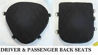 Driver & Back Passenger Seats Gel Pads Set For Harley Softail Deuce Duece Fxstd