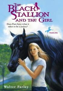 THE-BLACK-STALLION-AND-THE-GIRL-FARLEY-WALTER-NEW-PAPERBACK-BOOK