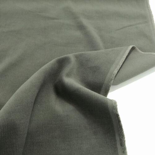 oliv Mikro CORD Baumwoll-Stoff samt weich fein Bekleidung Hose Jacke Rock Hemd