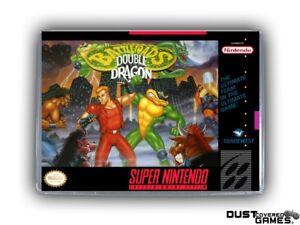 Battletoads Double Dragon The Ultimate Team Snes Super Nintendo Game Case Box Ebay