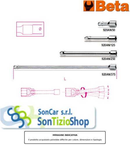 BETA 920 AN//125 Prodotto Originale PROLUNGHE ANGOLARI 125MM 1//2 AN//125