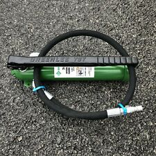 Greenlee 767 Hydraulic Hand Pump To Be Used With Knockout Punches And 746 Ram