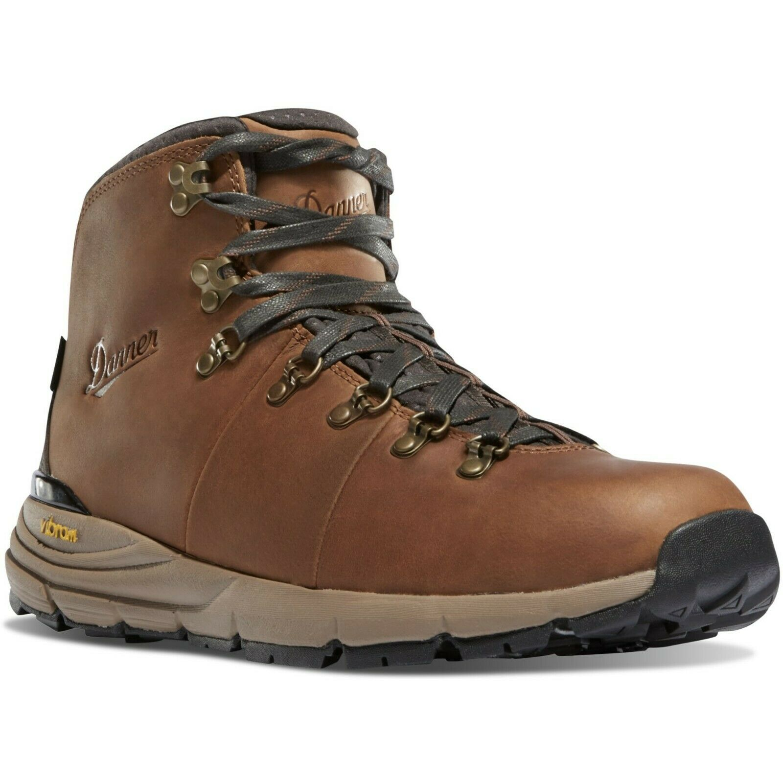 Danner Men's Mountain 600 62250 Dry Hiking Boot Out Vibram Rich Brown 4.5