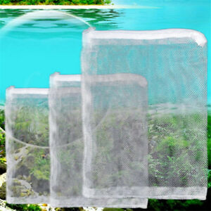 5X-Nylon-Mesh-Aquarium-Fish-Tank-Pond-Filter-Supplies-Media-Zip-Net-Bag-5-Sizes