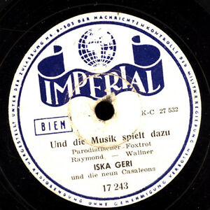 ISKA-GERI-Und-die-Musik-spielt-dazu-Oui-Madame-Schellackplatte-S6775