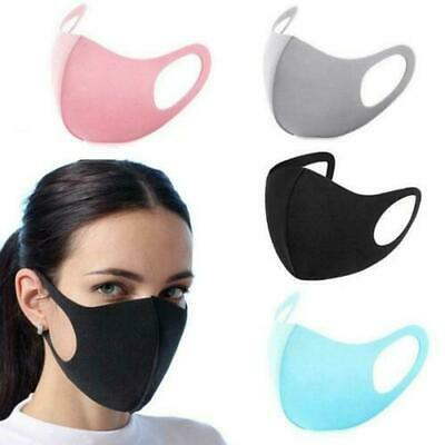 Pack Of 4 Reusable Washable Breathable Face Mask Anti Dust Mouth Uk Stock Ebay