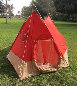 Image is loading Vintage-1973-REI-Crestline-Elite-2-Man-4- & Vintage 1973 REI Crestline Elite 2 Man 4 Season A Frame Tent ...