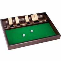 Shut The Box Game - 12 Numbers (includes Dice) , New, Free Shipping
