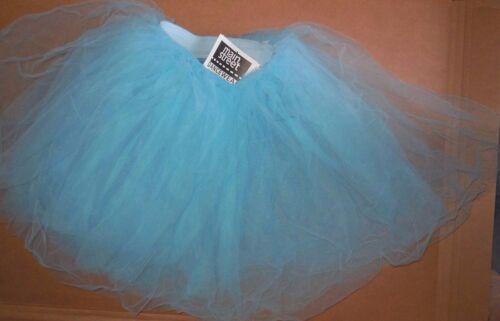 NWT Soft CHIFFON TULLE  ROMANTIC MIDLENGTH Tutu #4918 Copen Blue Ballet skirt