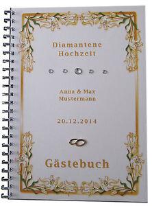 Gaestebuch-Diamantene-Hochzeit-Diamanthochzeit-Lilien-Geschenk-60-Hochzeitstag