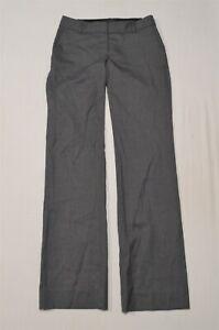 J.CREW 00 Gray 27685 Super 120s Wool 1035 Trouser Dress Pants