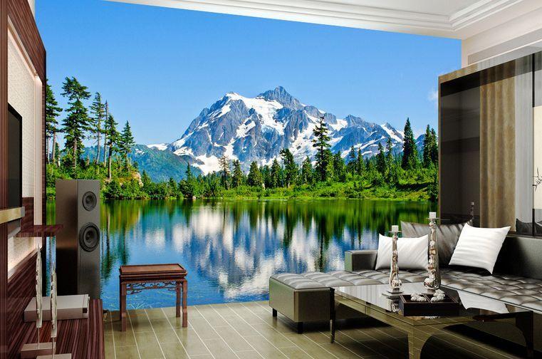 3D Panorama Parete Murale Carta da parati immagine sfondo muro stampa