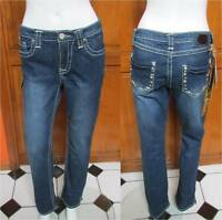 Iron Horse Mid-rise Thick Stitch Detailed Pocket Jeans Sz 0r, 2r, 4r, 6 L