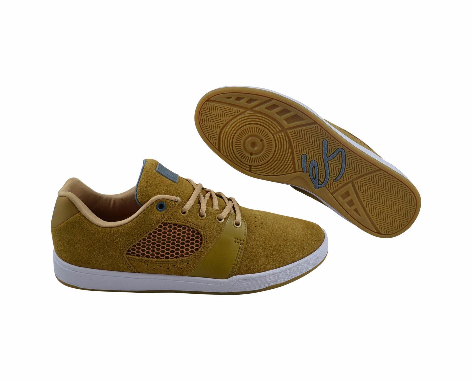 és es The Accelerate brown/white Skater Sneaker/Schuhe braun