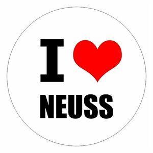 I-Love-Neuss-csd0402-Adesivo-Auto-Adesivo-Autoveicolo-Bandiera