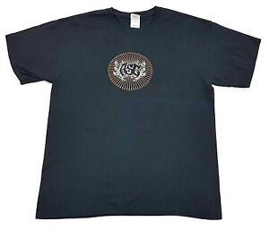 Vintage-ASG-Band-Tee-Black-Size-L-Mens-T-Shirt-Concert