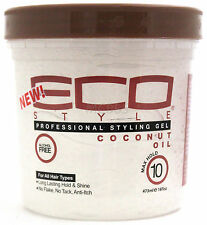 ECO STYLER COCONUT OIL PROFESSIONAL STYLING GEL MAXIMUM HOLD ALCOHOL-FREE 16 OZ.
