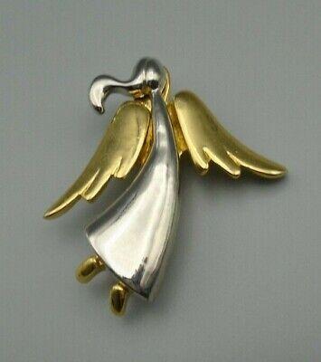 Vintage Goldtone Angel Pin
