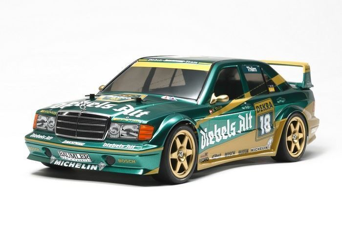 Tamiya RC Mercedes-Benz 190E, 2.5-16, TT01E Evo.II 1 10 Kit, Team Zakspeed