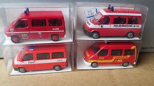 RIETZE-4-x-FORD-TRANSIT-Feuerwehr-Frechen-Wuelfrath-usw-50701-50523-50543-50621