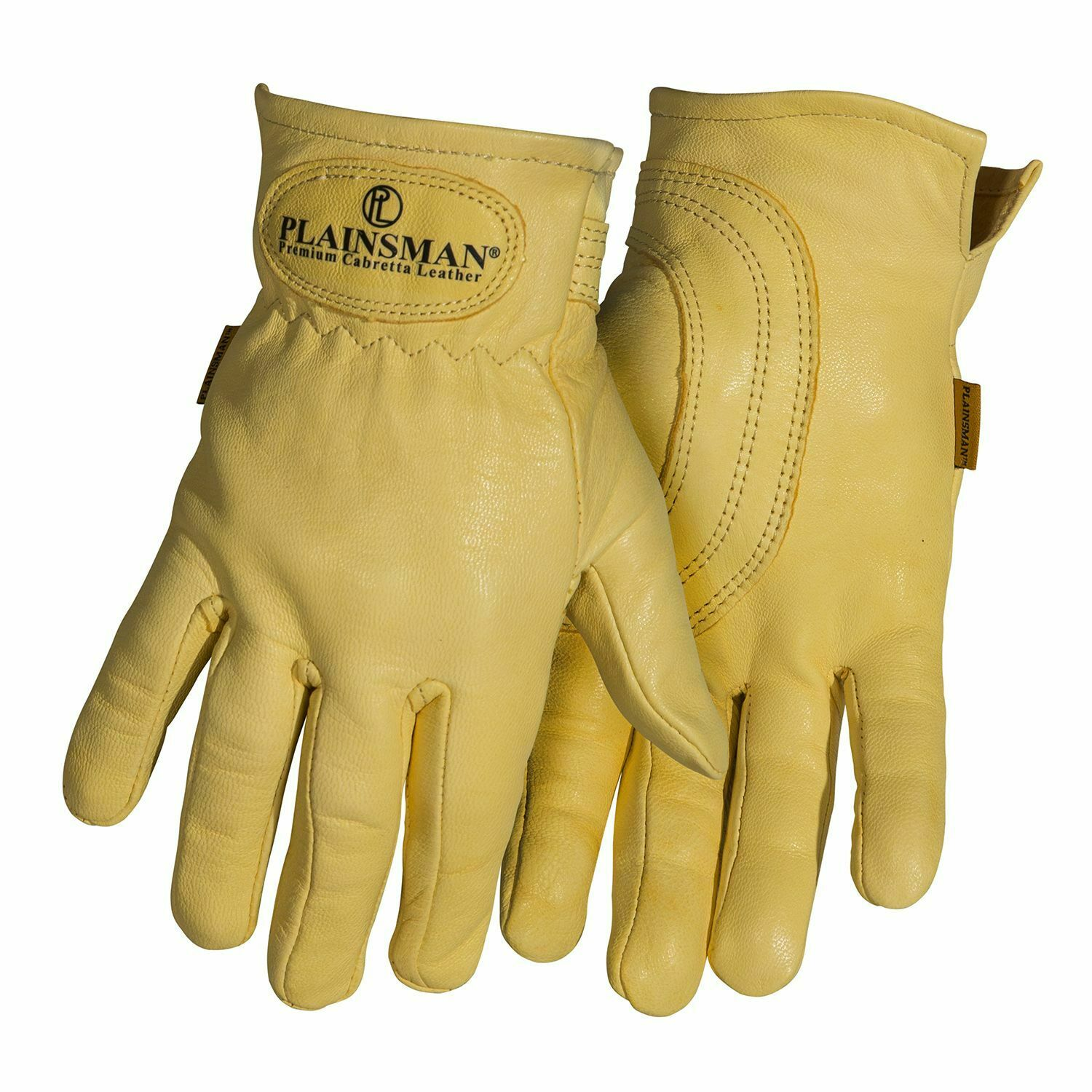(1) One Pair PLAINSMAN Premium Cabretta Leather Gloves from Wholesale Carton NEW