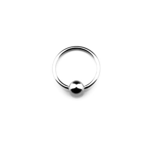 Implantation Steel Ball Closure Ring Klemmkugelring Universalpiercing BCR