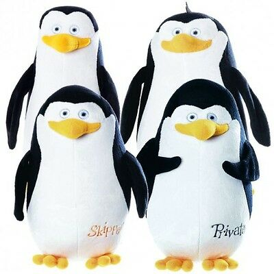 Madagascar - Plush Soft Toy Penguins of Madagascar with names to choose from 28-