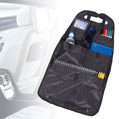 Universal Back Car Seat Organiser Folding Travel Multi Holder Van Stow Childrens