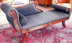Liegemöbel chaiselongue recamiere canape sofa sitz liege möbel barock