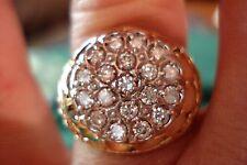 1.33 CARAT MAN'S DIAMOND KENTUCKY CLUSTER  SZ 9.75