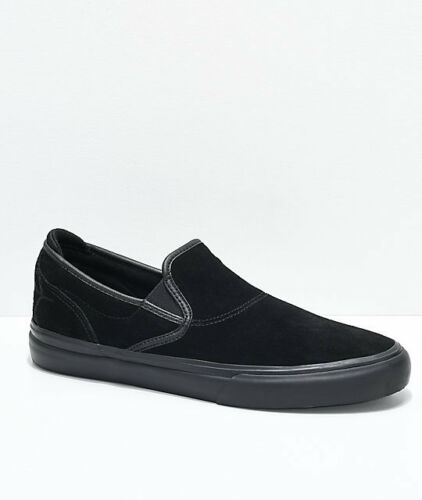 "Black Skate Shoes Emerica Wino G6 /""Black Widow /"" Black S"