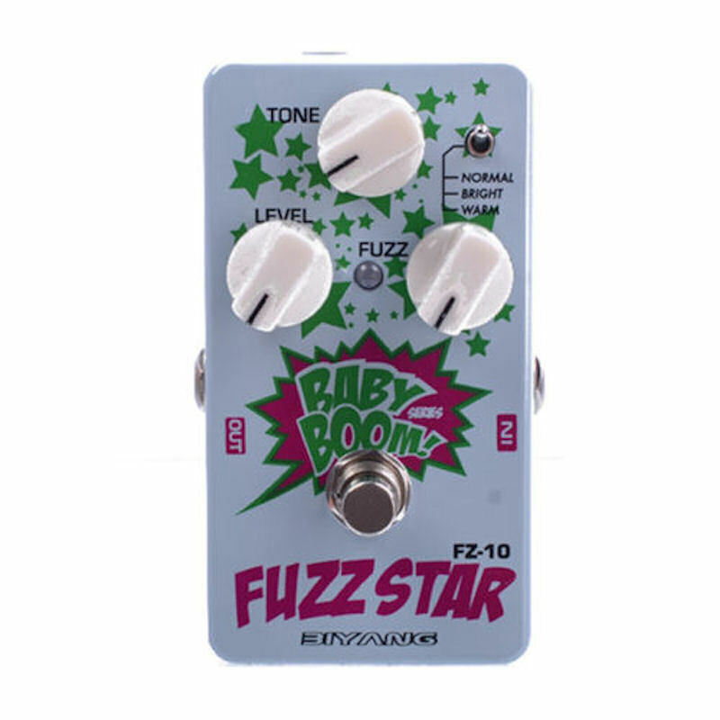 Biyang FZ-10 Fuzz Star Distortion Guitar Effects Pedal Big Muff Type pedal