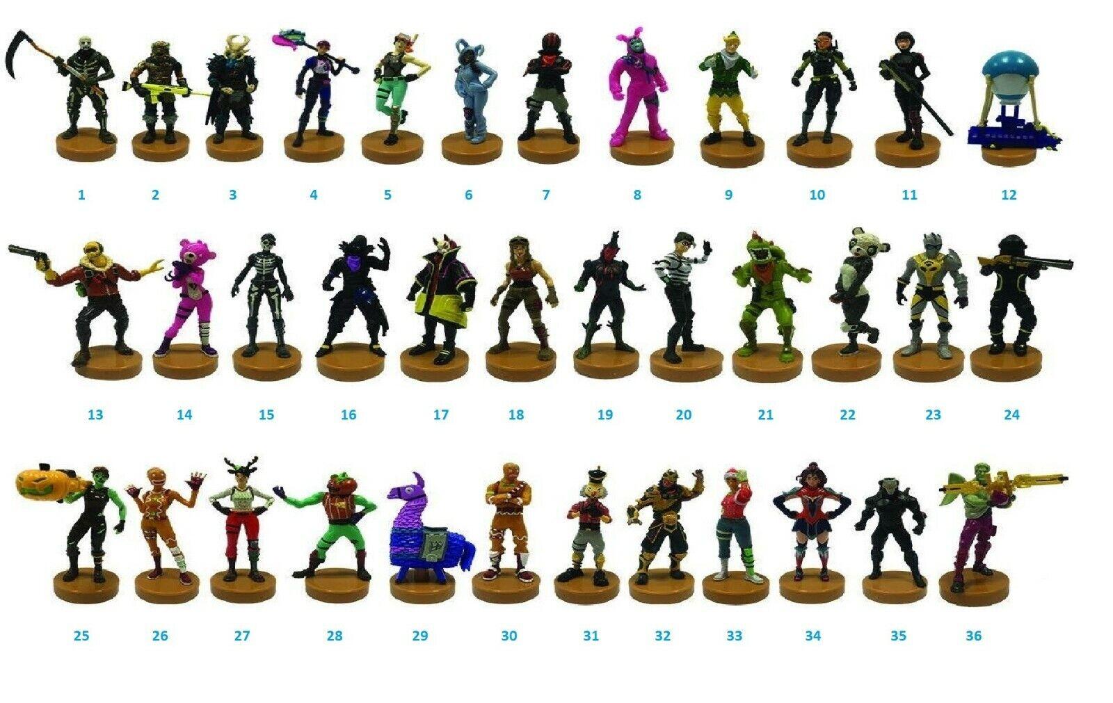Fortnite Stampers Series 1 Modellserie Figur mit Stempel Auswahl an Figuren