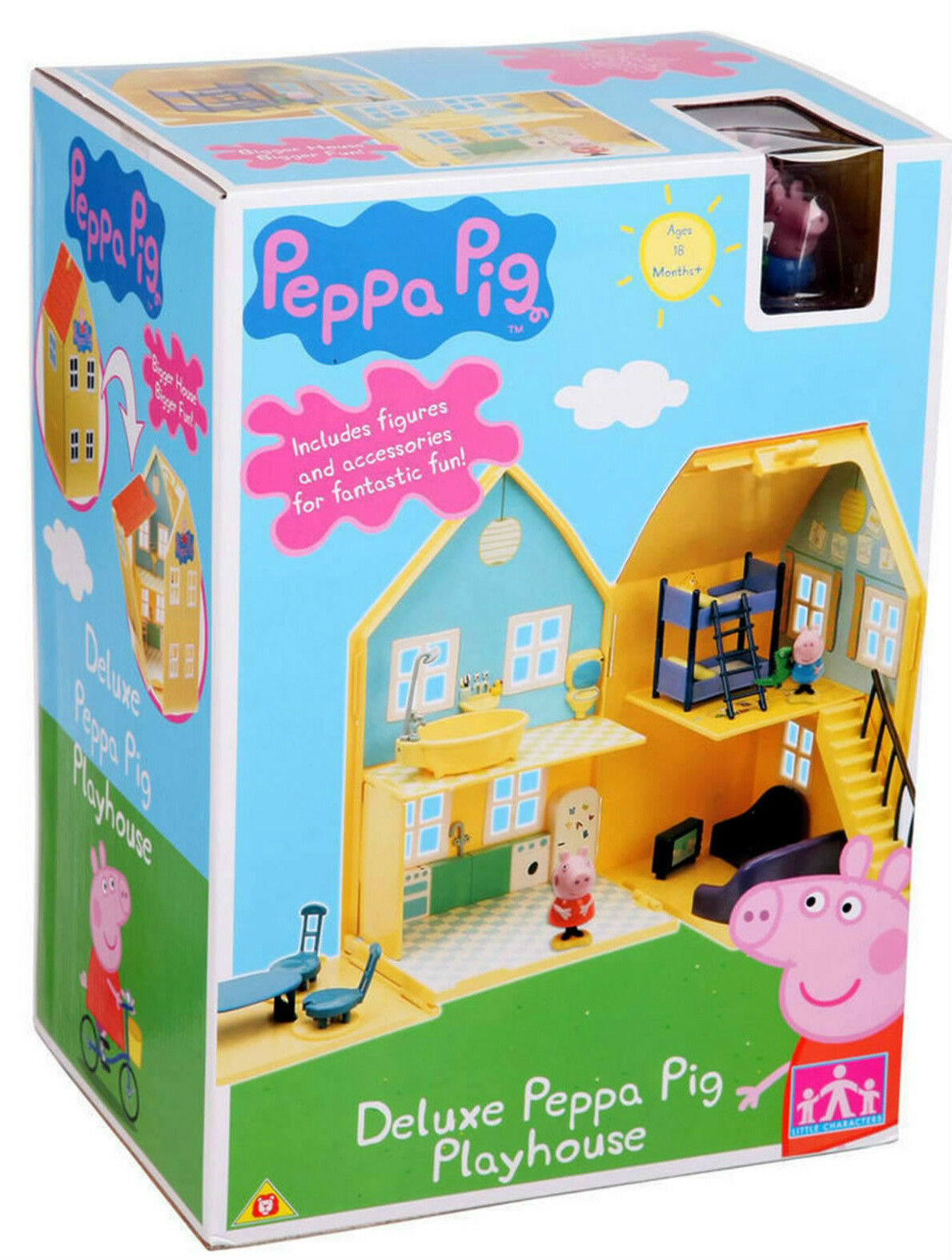 Peppa Pig - Deluxe Pig Playhouse  PURCHASE TODAY