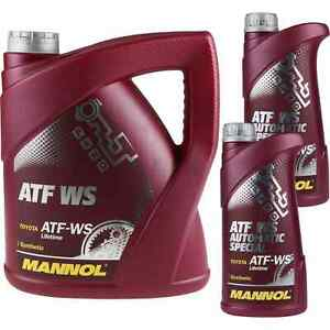 6-Liter-Original-MANNOL-ATF-WS-Automatic-Special-Automatikgetriebeoel-Gear-Oil