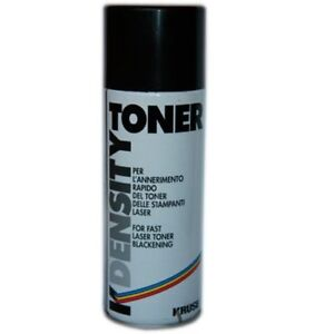 Density-Toner-400-ml-Spray-Anneritore-toner-stampanti-laser-rapido-annerimento