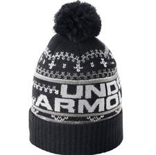item 2 Under Armour 2018 ColdGear Retro UA Pom Pom 3.0 Winter Beanie Hat  -Under Armour 2018 ColdGear Retro UA Pom Pom 3.0 Winter Beanie Hat d25d069302bf