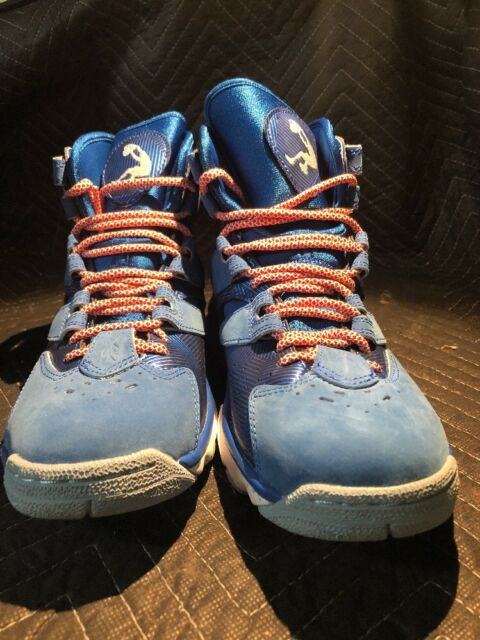 53f951d09718 Reebok Shaq Attaq 4 IV White blue Men Basketball Shoes Sz 9 for sale ...