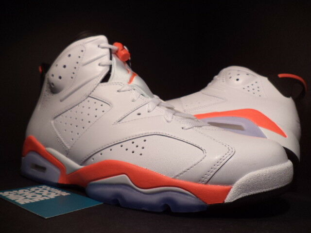 huge discount afa90 71cfb Nike Air Jordan 6 VI Retro White Infrared Size 10 Red Black 2014 for sale  online  eBay
